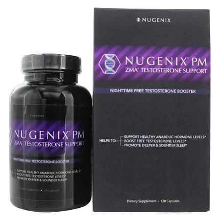 Nugenix - PM ZMA Testosterone Booster - 120 Capsules