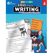 180 Days of Writing for Fourth Grade (Grade 4) : Practice, Assess, Diagnose