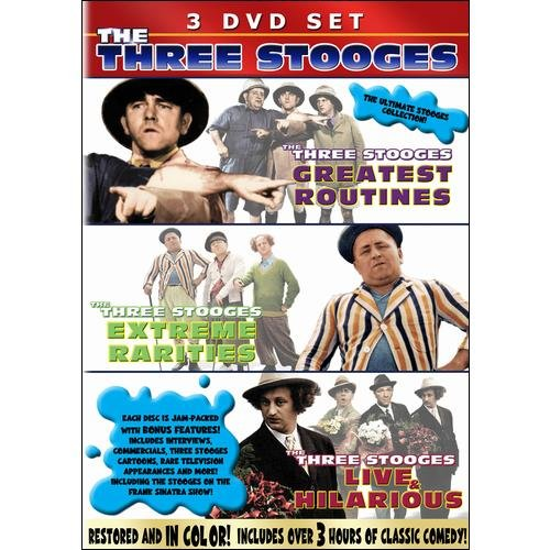 The Three Stooges In Color: Triple Whammy!