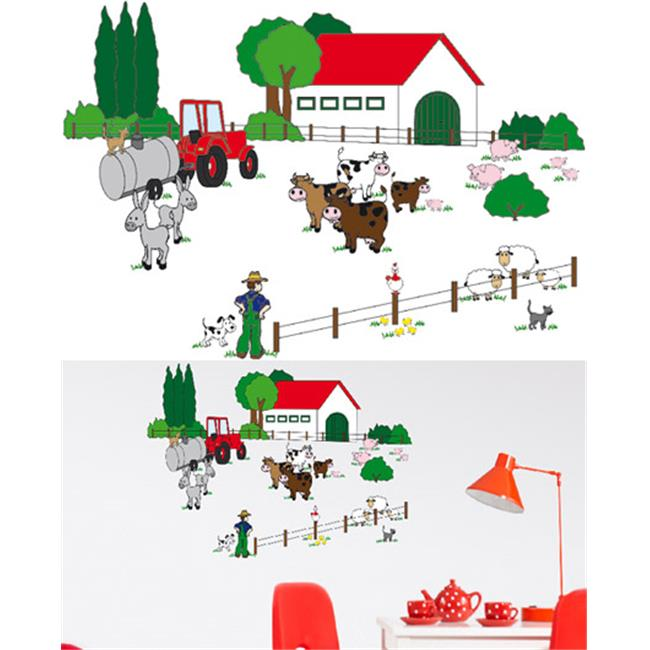 Wizard & Genius DM74310 The Farm Wall Decals