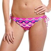 Swim Chevron String Bikini Bottom