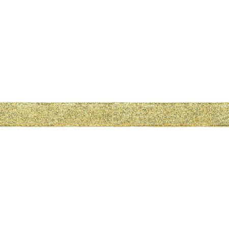 Offray Galena Ribbon  5 8   X 12  Gold