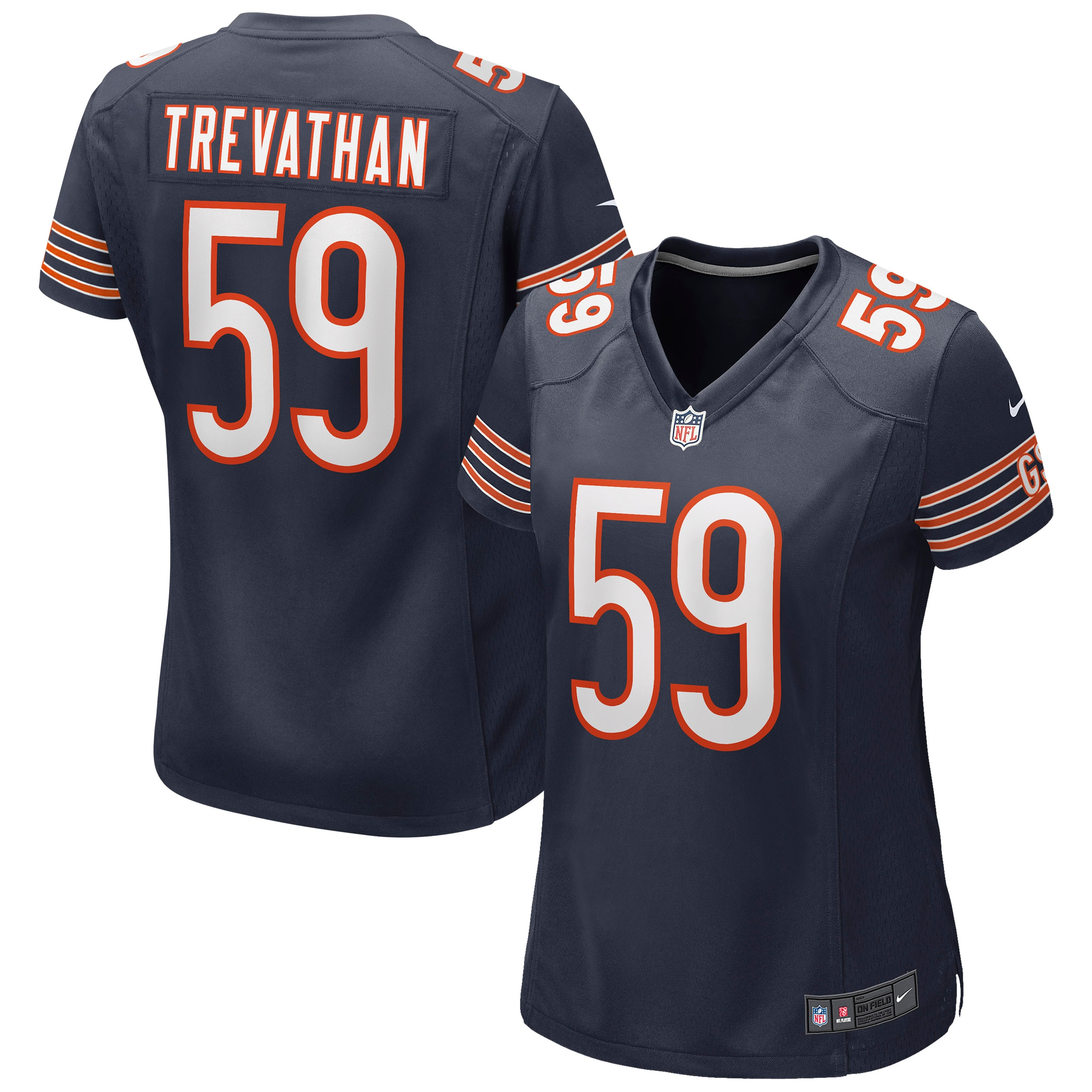 Danny Trevathan Chicago Bears Nike Women's Game Jersey - Navy - Walmart.com