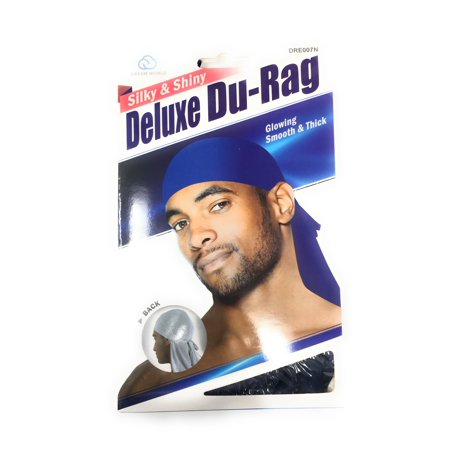 Dream Deluxe Luxury Silky Shiny Durag Wave Builder Smooth Thick Du Rag