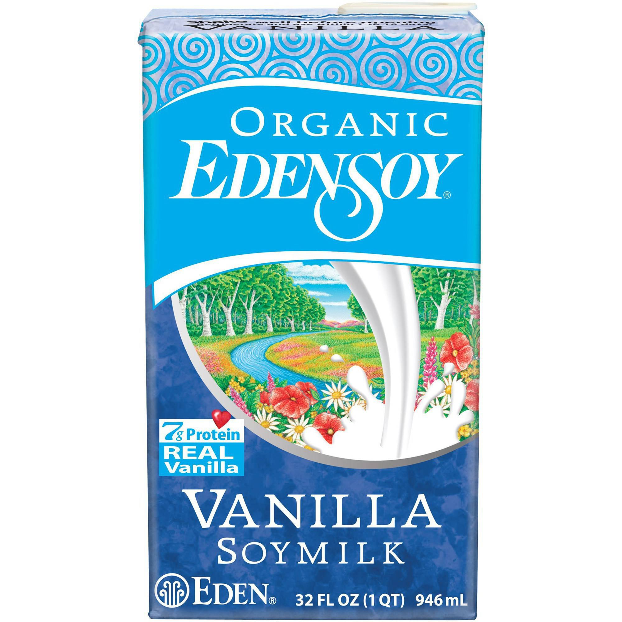Eden Vanilla Edensoy, Organic, 32 Ounce (Pack of 6) by