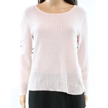 Lauren by Ralph Lauren NEW Pink Womens Large PL Petite Pullover Sweater