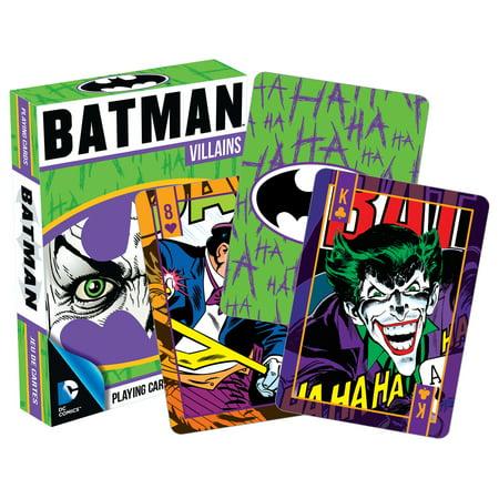 Batman 52265 Batman Villian Playing Cards - Batman Girl Villians
