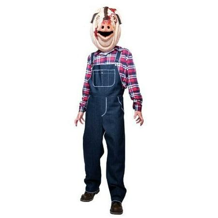 Motel Hell Costume (Motel Hell Pig Costume - Medium - Chest Size)