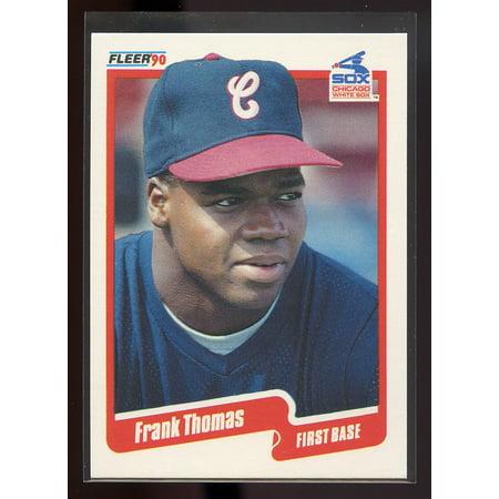 1990 fleer update #u-87 FRANK THOMAS chicago white sox ROOKIE card