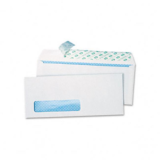 Redi-Strip Security Tinted Window Envelope  Contemporary  #10  White  500/box - image 1 de 1