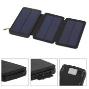 CNMODLE Portable 10000mAh Solar Panel Powerbank External Battery Charger Charging Power Bank For Mob