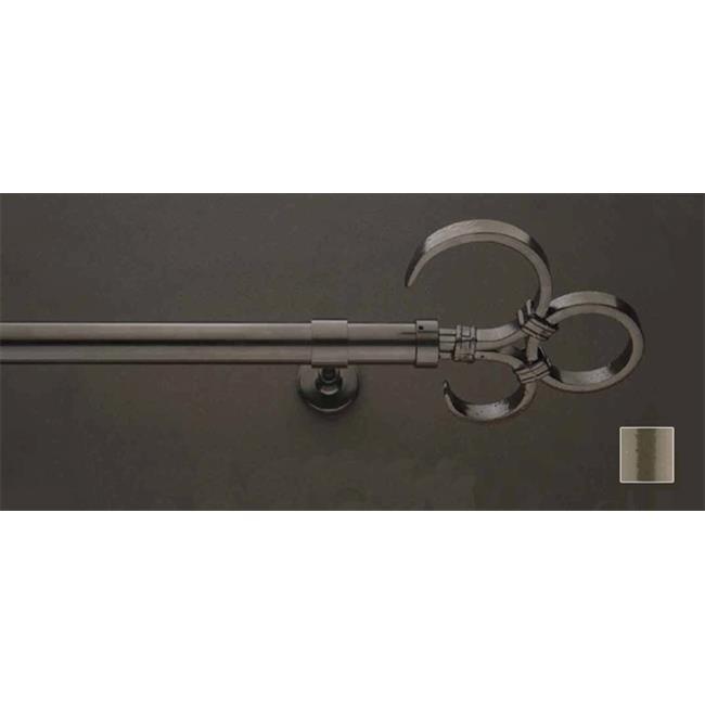 WinarT USA 8. 1172. 20. 36. 280 Feronia 1172 Curtain Rod Set -. 75 inch - 110 inch