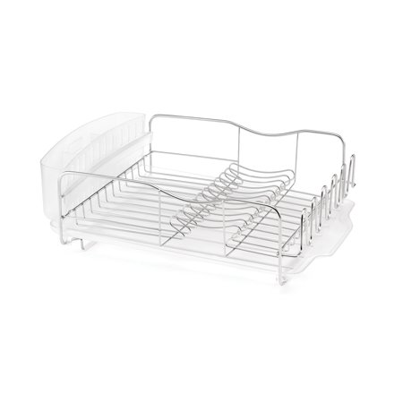 Polder 3 Piece Advantage Countertop Stainless Steel Dish Rack Drying System