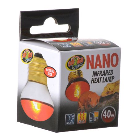 Zoo Med Laboratories Inc-Nano Infrared Heat Lamp 40 Watt ()