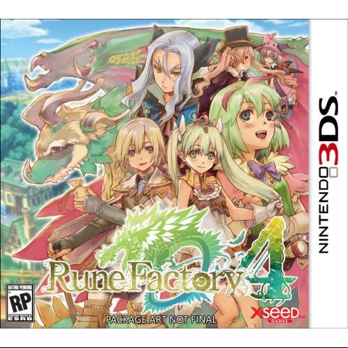 Crave Entertainment Rune Factory 4