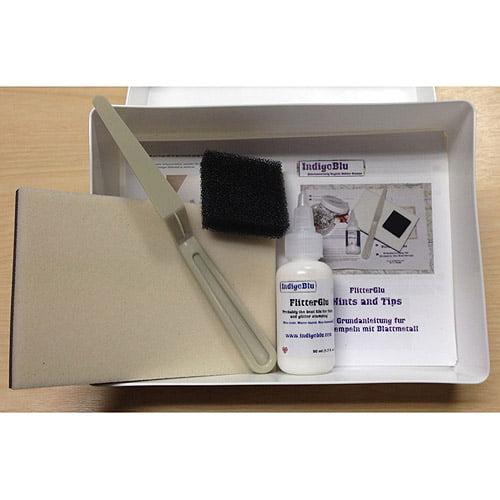 IndigoBlu FlitterGlu Kit in Box, No Flake