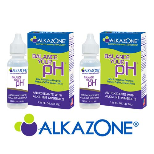 ALKAZONE Balance Your pH Antioxidants Alkaline Mineral Booster & Supplements (2 -