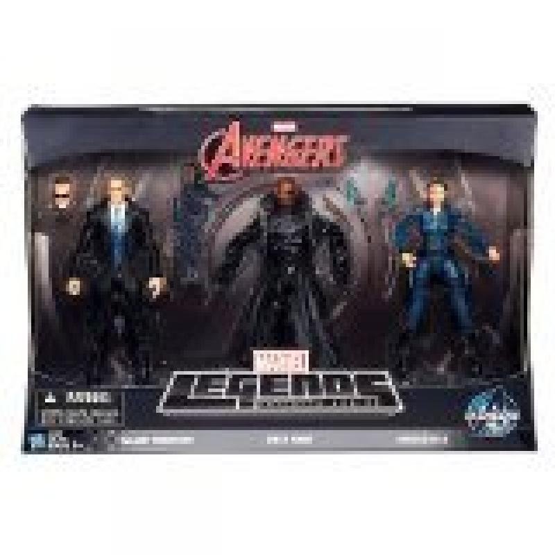 "Marvel Avengers Marvel Legends Infinite Series Agent Coulson, Nick Fury & Maria Hill 6"" Action Figure 3-Pack [Agents of Shield]"