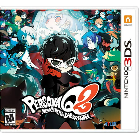 Persona Q2: New Cinema Labyrinth Launch Edition, Atlus, Nintendo 3DS, (Best Atlus Games For 3ds)