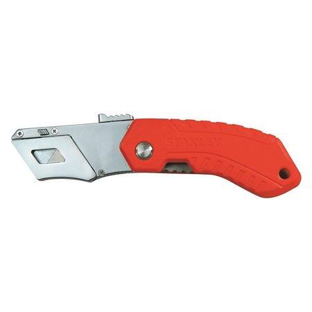 Stanley Folding Knife (STANLEY STHT10243 Folding Safety Knife,6-1/2 in.,Orange)