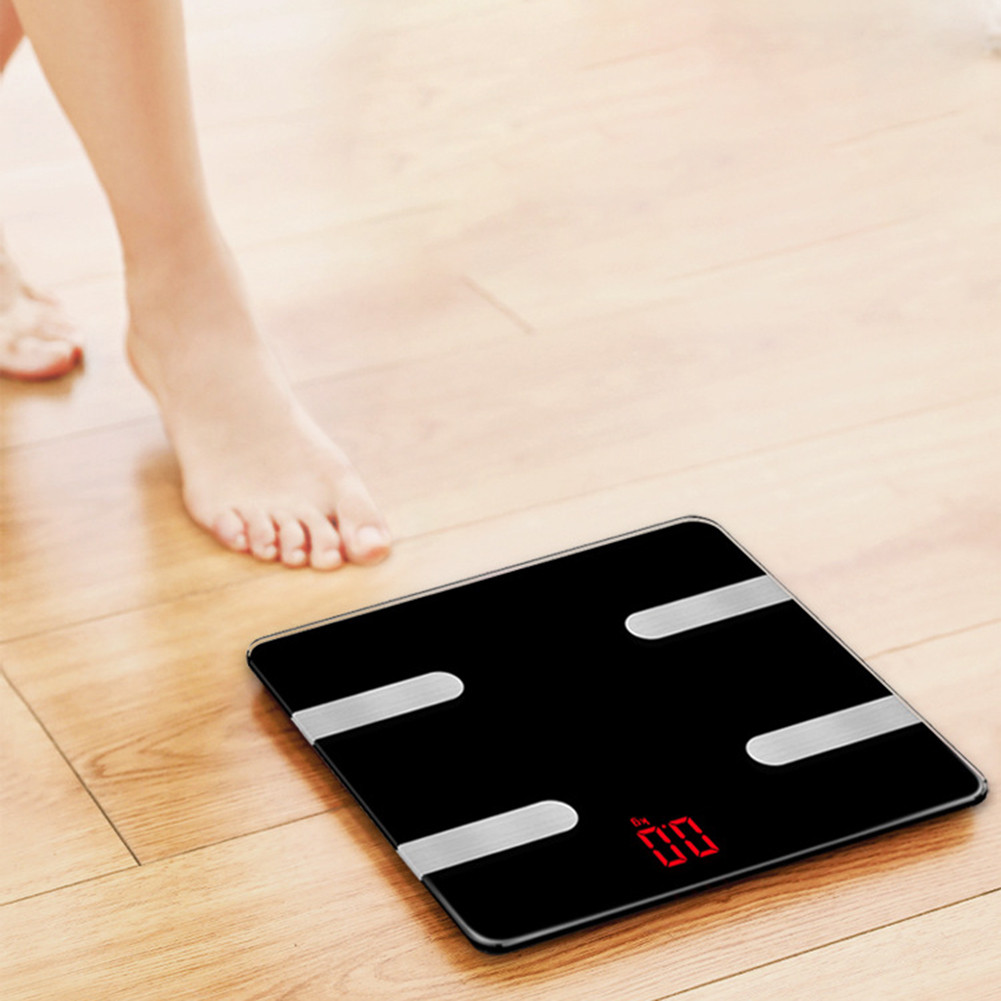 Smart Digital Bluetooth Weight Body Fat Electronic Scale Without Batteries