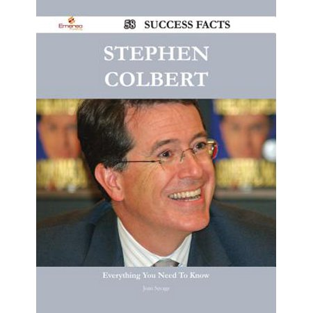 Stephen Colbert 58 Success Facts - Everything you need to know about Stephen Colbert - eBook](Halloween Stephen Colbert)