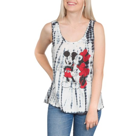 Juniors' Mickey Mouse Criss Cross Back Graphic Tank](Mickey Mouse Dress For Women)