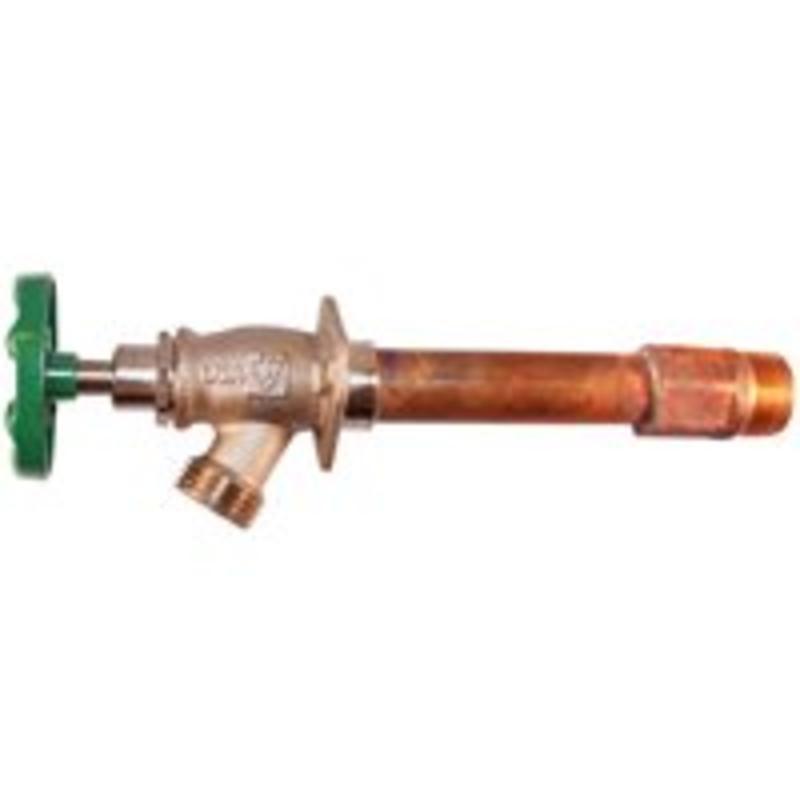 10In Frost Free Hydrant Arrowhead Brass Frostproof Sillcocks 455-10BCLD