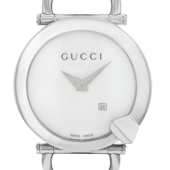 6bc3761ed53 Gucci - 122 Chiodo YA122501 Stainless Steel Quartz Ladies Watch ...