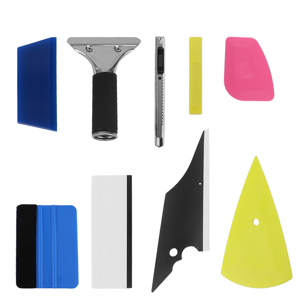 Window Tint Tools 8 In 1 Money Saving Diy Car Vinyl Wrap Tool Window