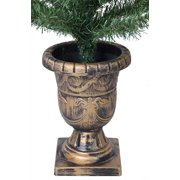 holiday time christmas decor pre lit 2 pack 35 artificial porch tree - Porch Christmas Tree