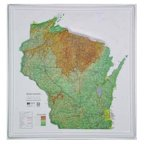 American Educational Products K-Wi2021 Wisconsin State Map