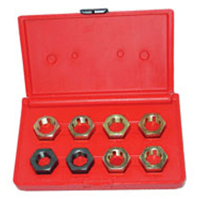 Lang Tools 2579 8 piece Spindle Rethread Die Set
