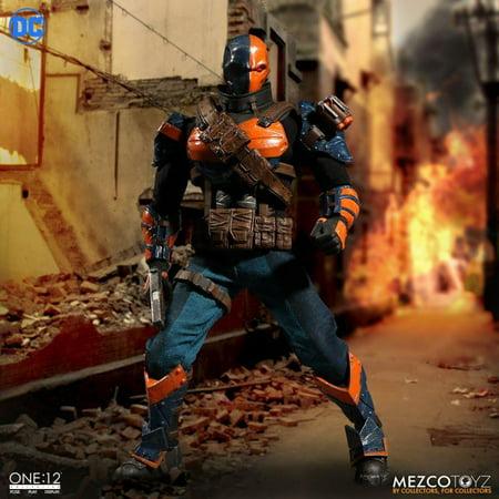 Mezco One 12 DC Universe Deathstroke Action Figure
