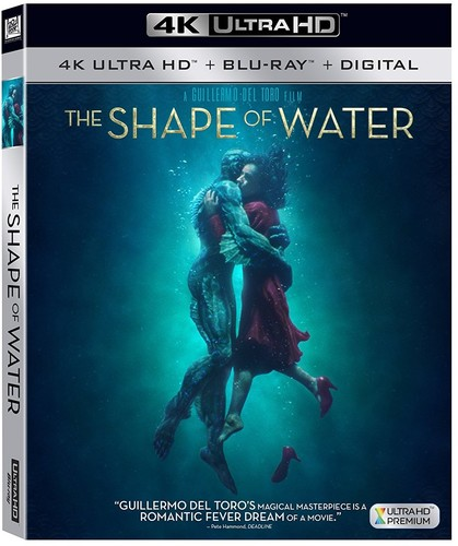 The Shape of Water (4K Ultra HD + Blu-ray + Digital)