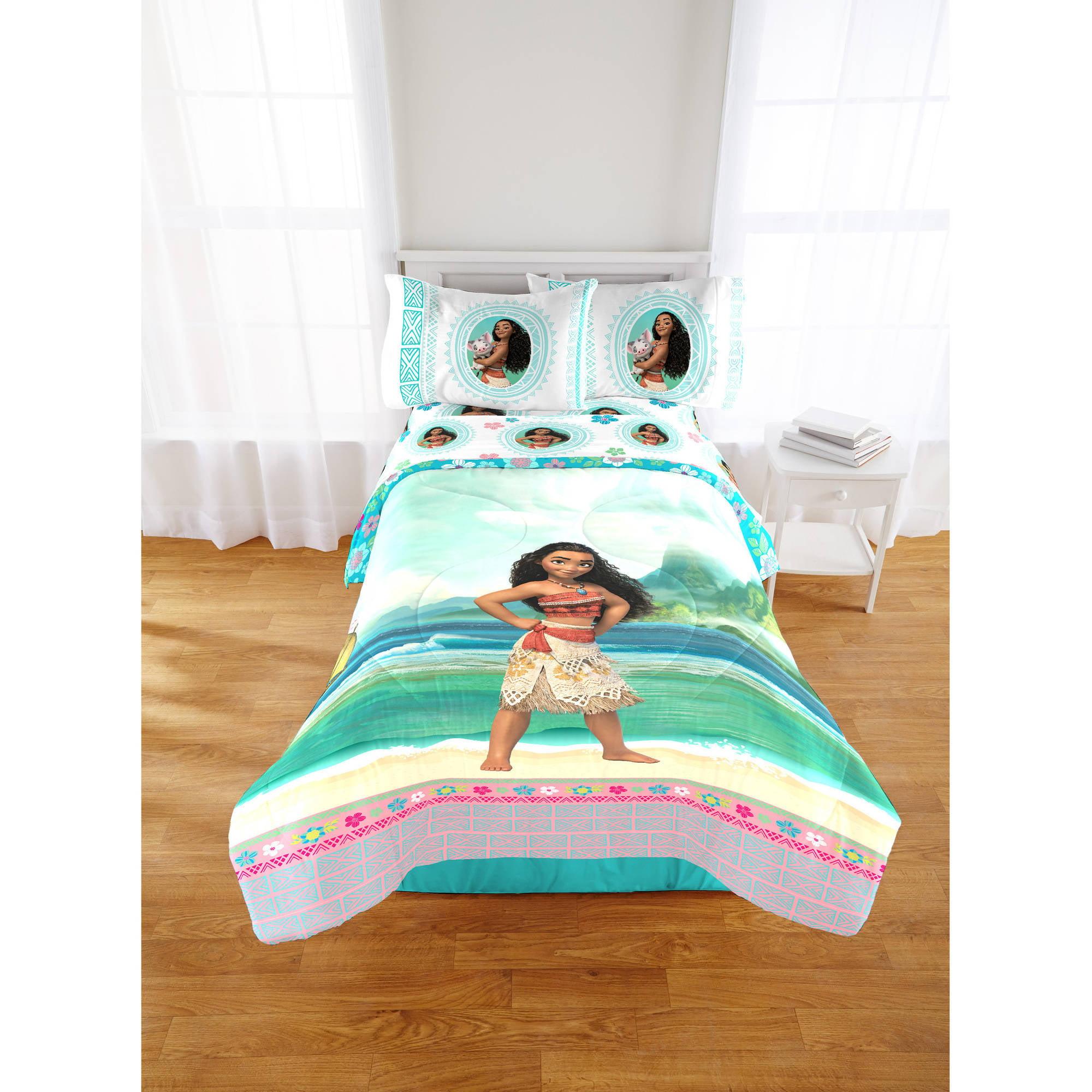 Disney Moana Twin/Full Comforter Warm Beautiful ...
