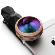 iPhone Lens,Super Wide Angle Cell Phone Camera Lens Kit, High Clarity, 238°Field of View,for iPhone, Android, Smartphone