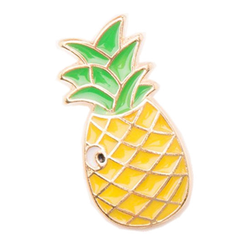 Stylish Woodpecker Watermelon Cartoon Brooch Creative Unique Alloy Breastpin Clothing Bag Hat Accessories - image 6 of 7