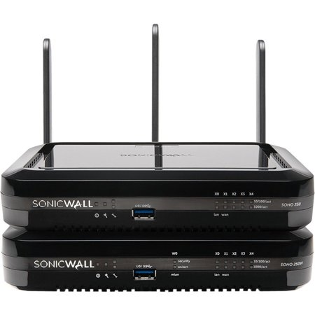 SonicWall SOHO 250 Base Security VPN Firewall
