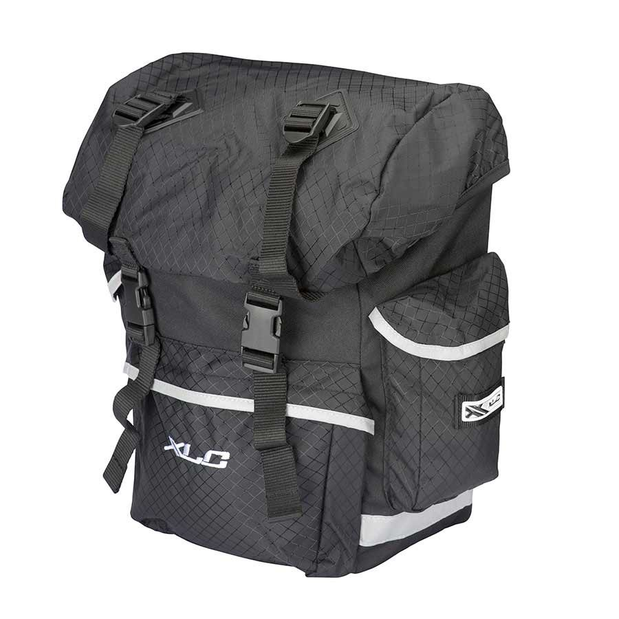 XLC, Expedition Pannier Bag set Lg Bk