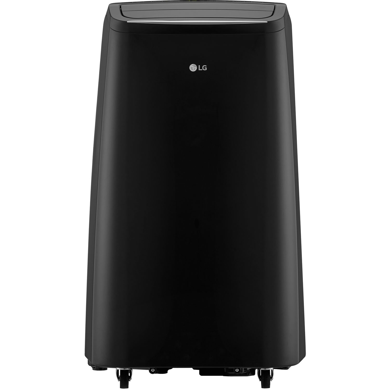 Ft. Certified Refurbished LG LP1417GSR 115V Portable Air Conditioner with Remote Control in Graphite Gray for Rooms up to 400-Sq