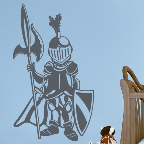 Style and Apply Little Knight Wall Decal