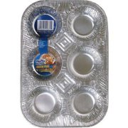 Hefty Ez Foil 6-Cup Muffin Pan