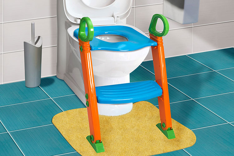 GPCT Portable 3-In-1 Toddler Potty Training Seat with Step Stool by GPCT