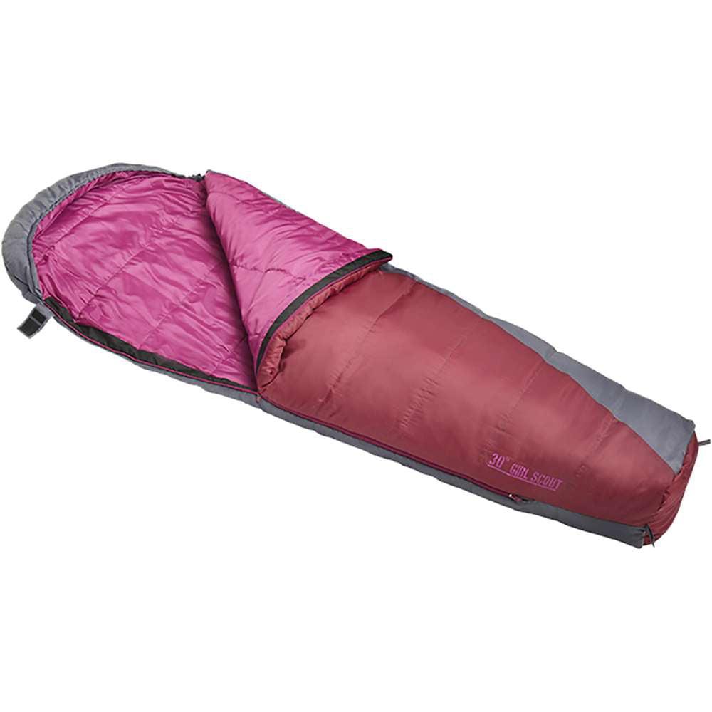 Slumberjack Girls' Girl Scout 30 Degree Sleeping Bag