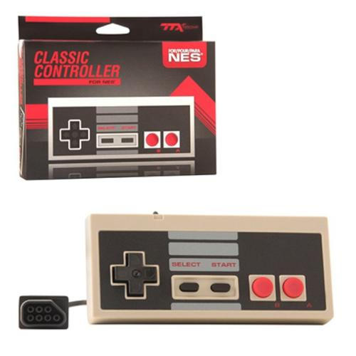TTX Tech Wired 8-bit Controller For NES Nintendo Entertainment System