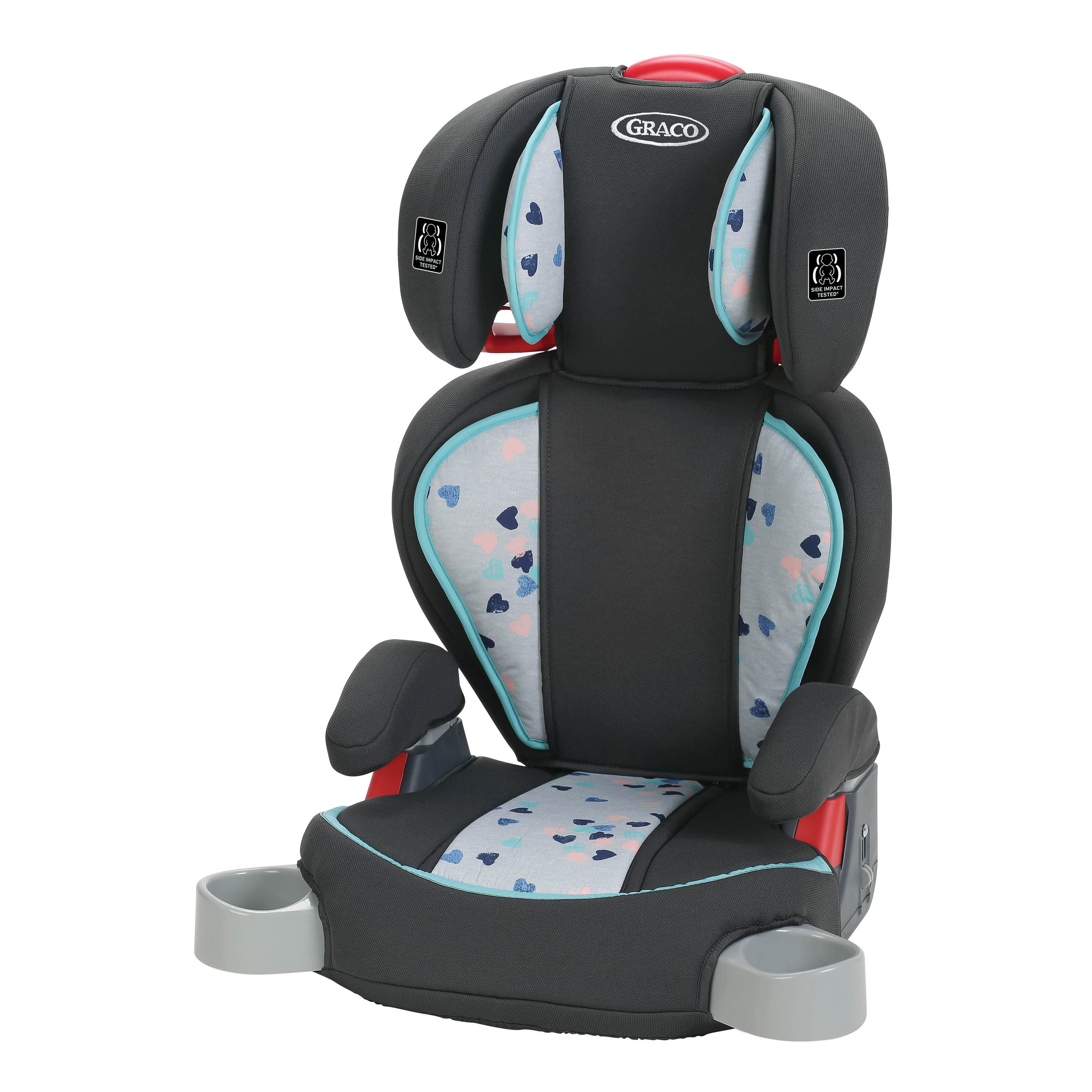 Graco TurboBooster High Back Booster Car Seat, Lauren