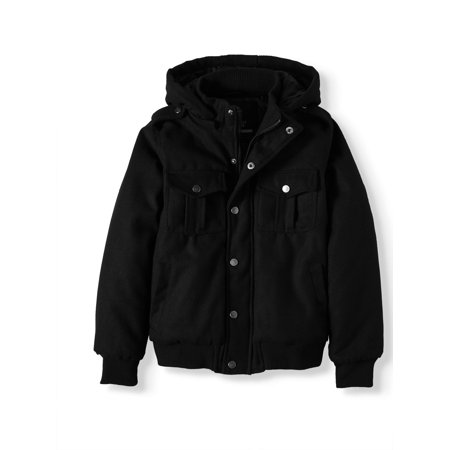 Beverly Hills Polo Club Wool Jacket with Removable Hood (Big Boy) ()