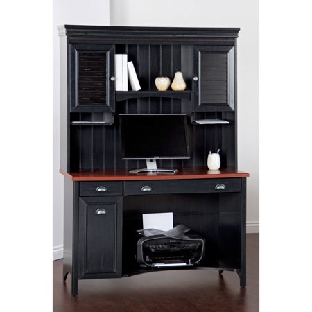 Bush Stanford Computer Desk With Optional Hutch