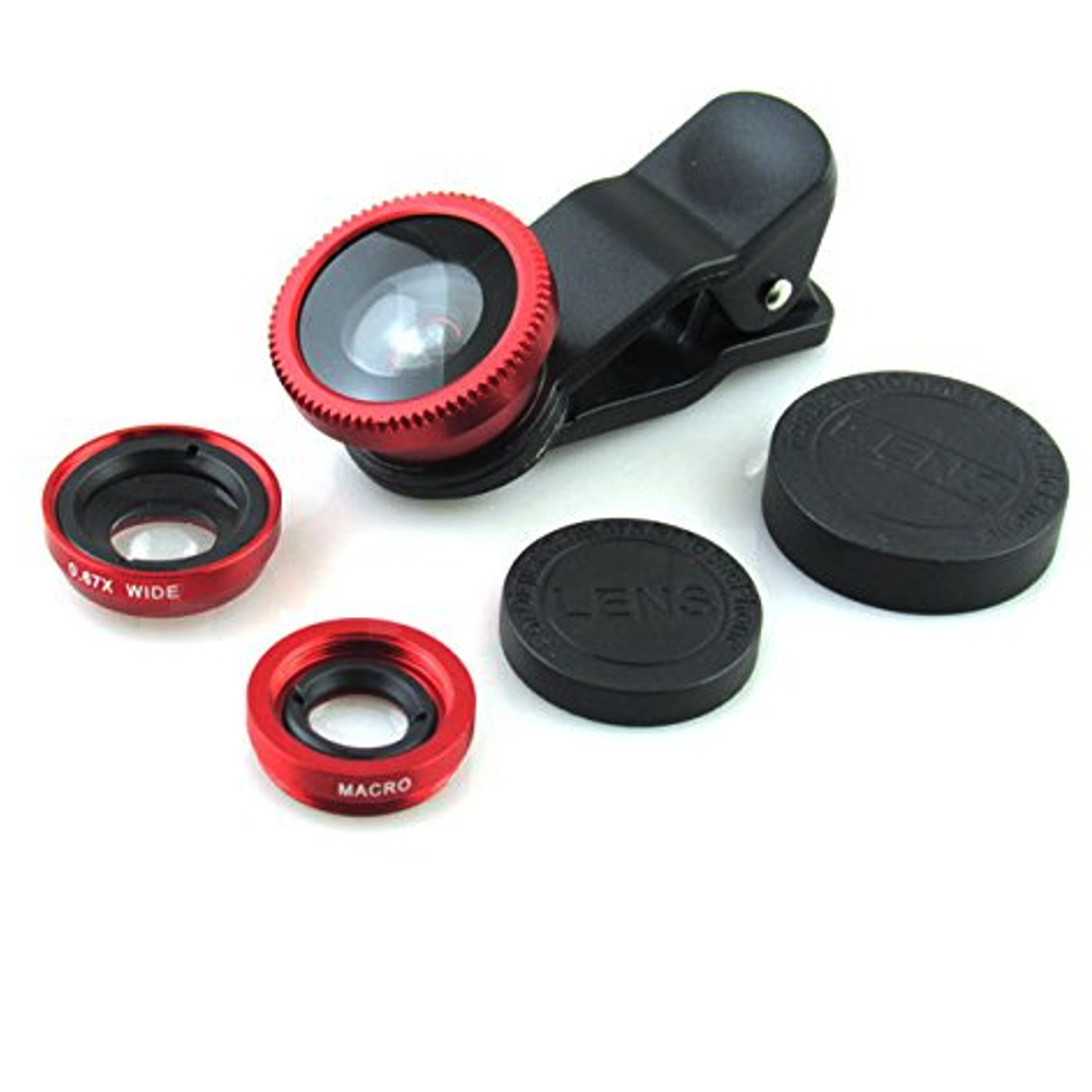 Mobile Cell Phone Camera Lens Clip On Universal Size Any Photography